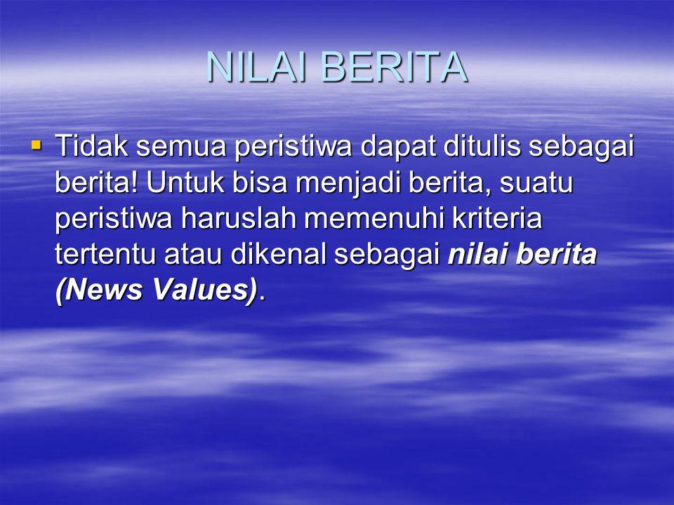 NILAI BERITA