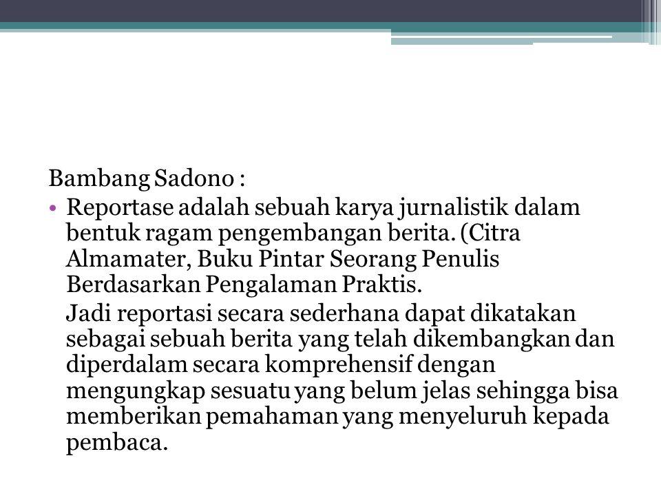 Bambang Sadono :