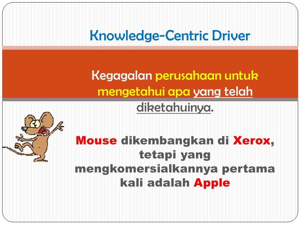 Knowledge-Centric Driver