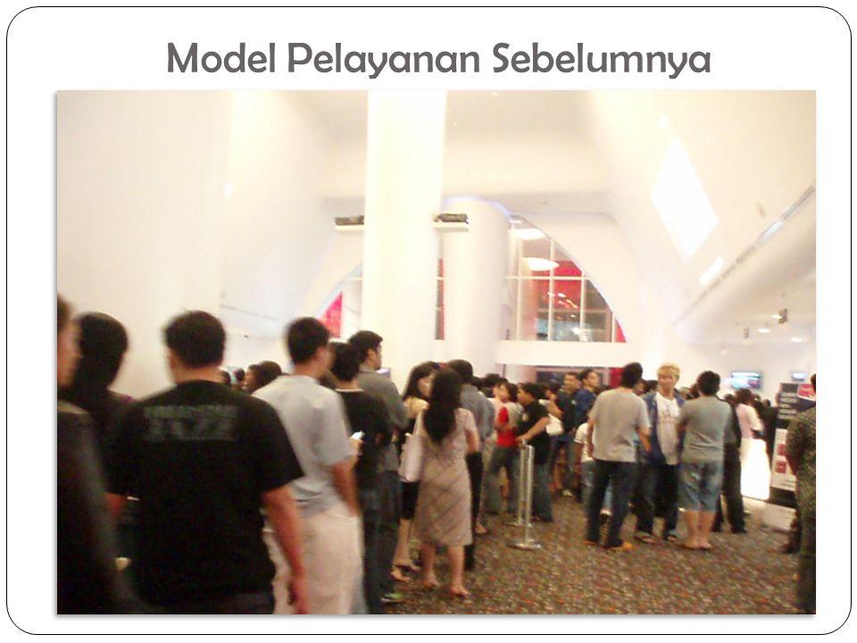 Model Pelayanan Sebelumnya