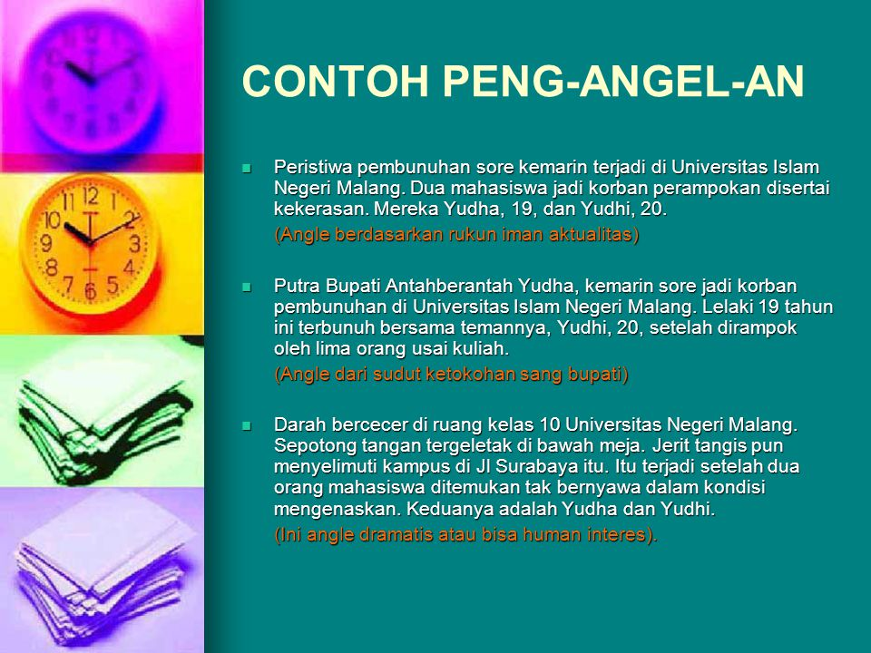 CONTOH PENG-ANGEL-AN