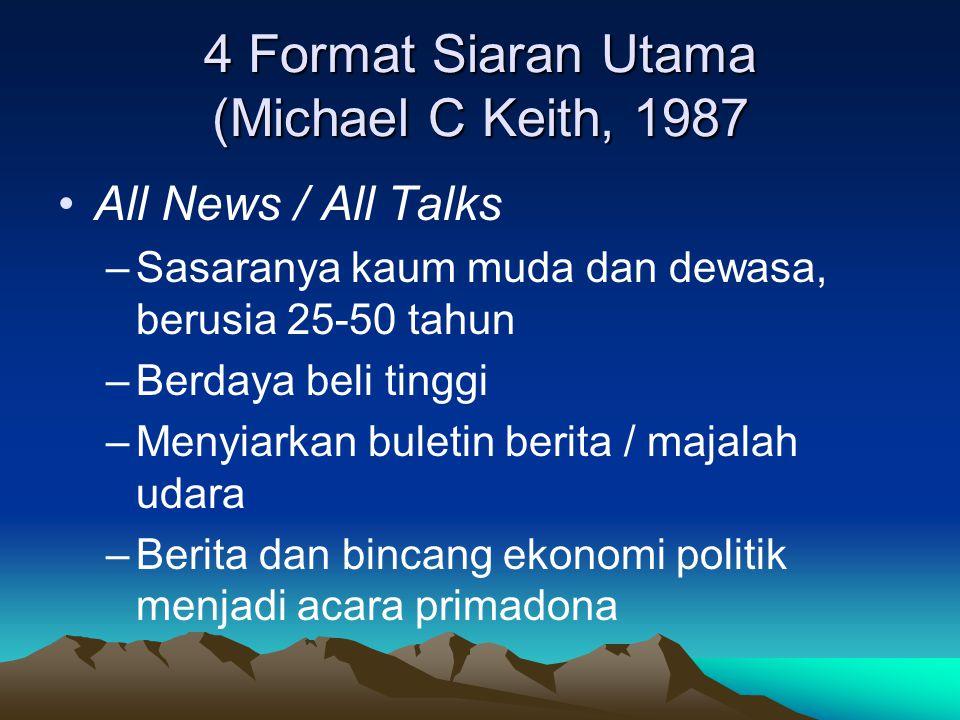 4 Format Siaran Utama (Michael C Keith, 1987