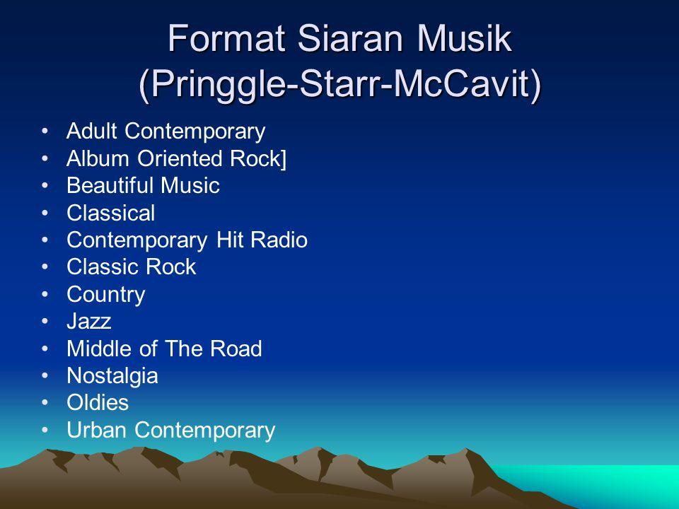 Format Siaran Musik (Pringgle-Starr-McCavit)