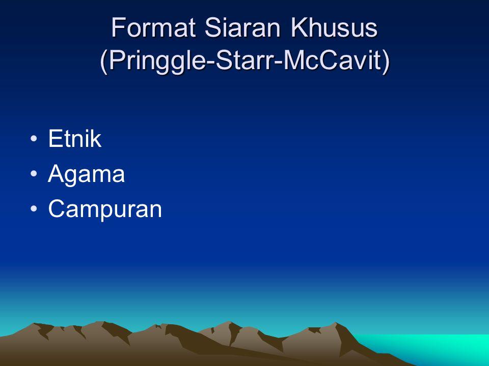 Format Siaran Khusus (Pringgle-Starr-McCavit)