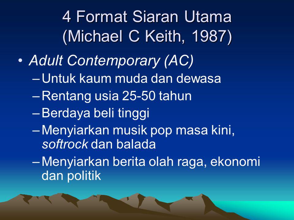 4 Format Siaran Utama (Michael C Keith, 1987)