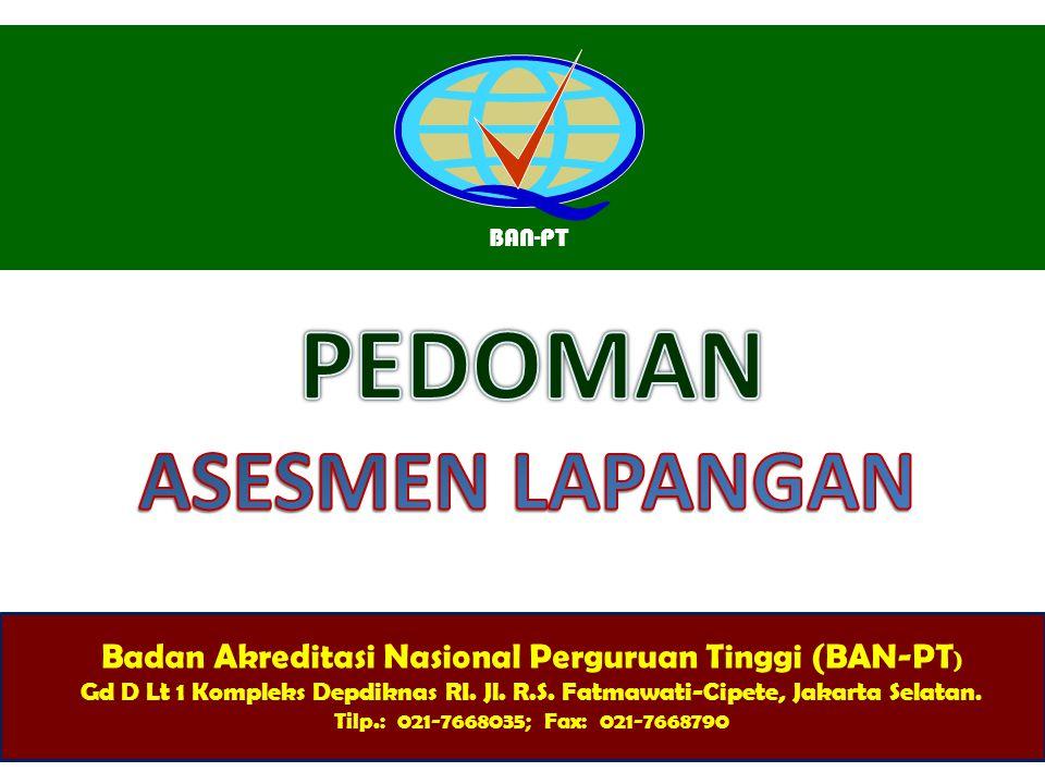 Badan Akreditasi Nasional Perguruan Tinggi (BAN-PT)