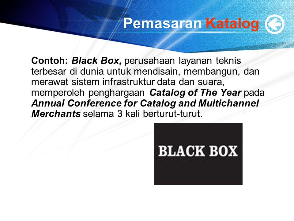 Pemasaran Katalog