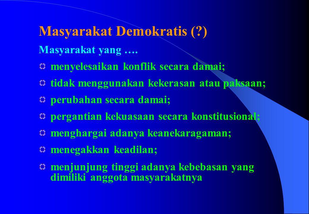 Masyarakat Demokratis ( )