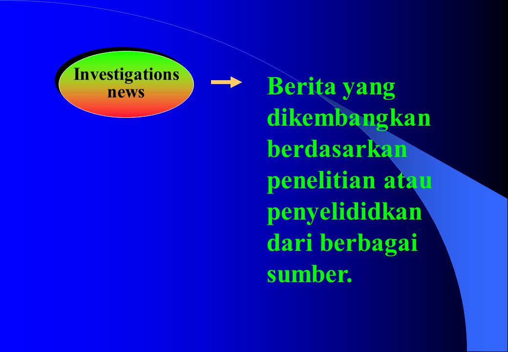 Investigations news.
