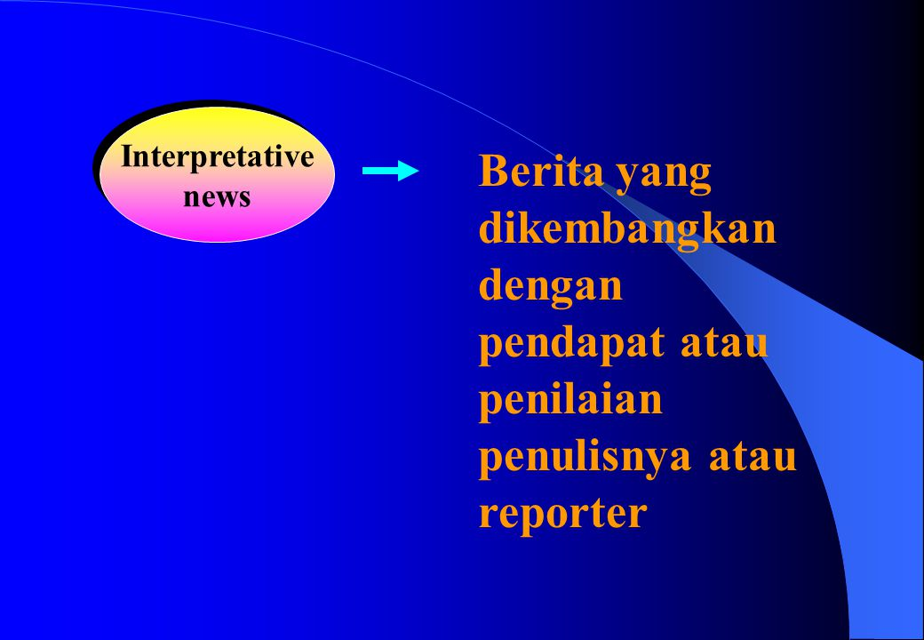 Interpretative news.