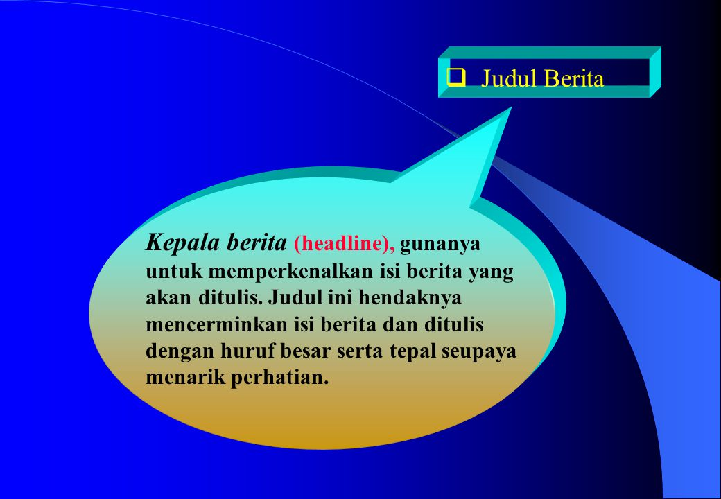Judul Berita