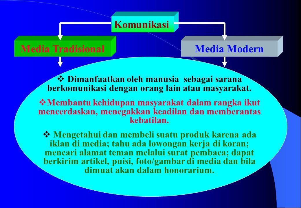 Media Tradisional Media Modern