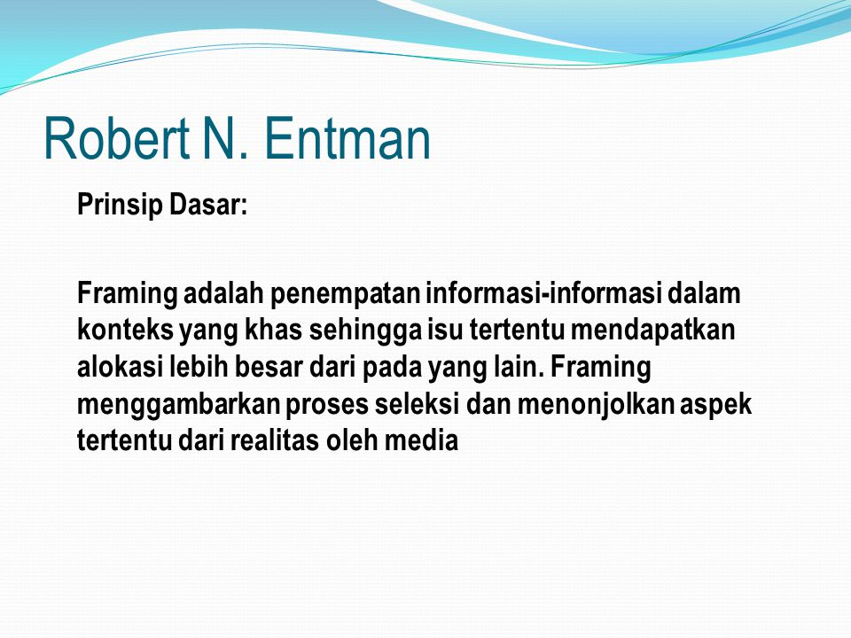 Robert N. Entman