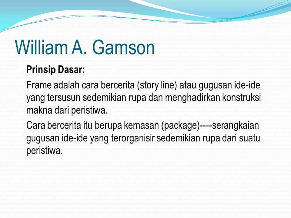 William A. Gamson
