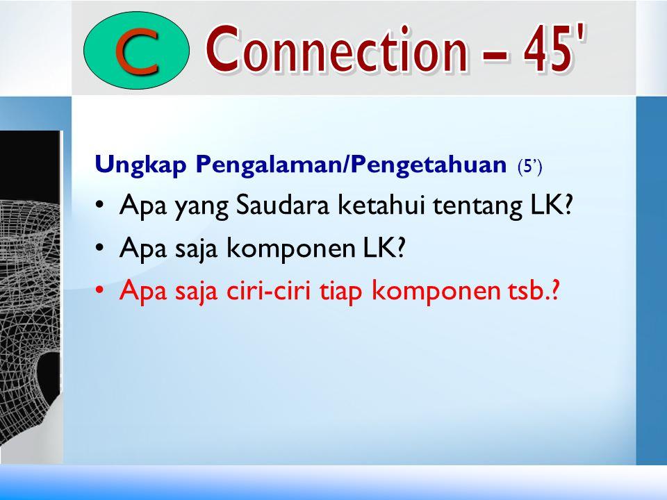 C Connection – 45 Apa yang Saudara ketahui tentang LK