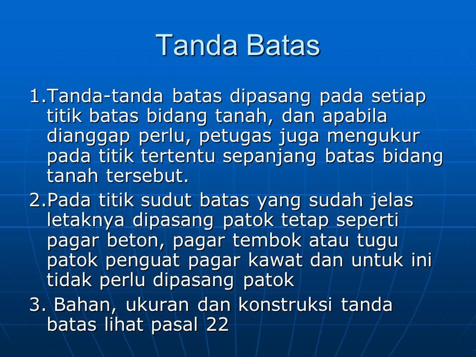 Tanda Batas