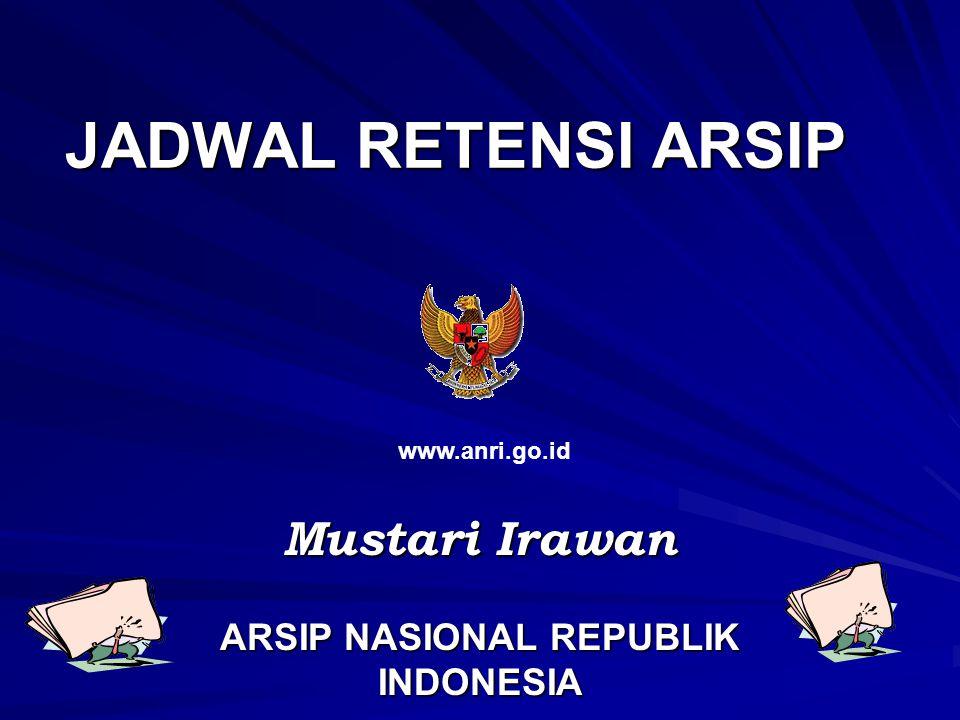 Mustari Irawan ARSIP NASIONAL REPUBLIK INDONESIA