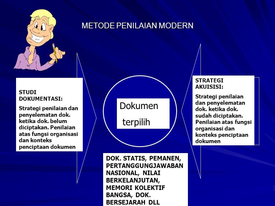 METODE PENILAIAN MODERN