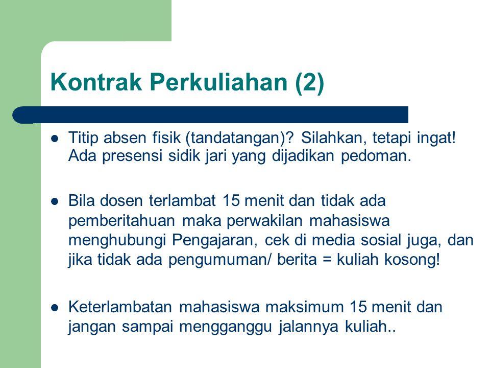 Kontrak Perkuliahan (2)