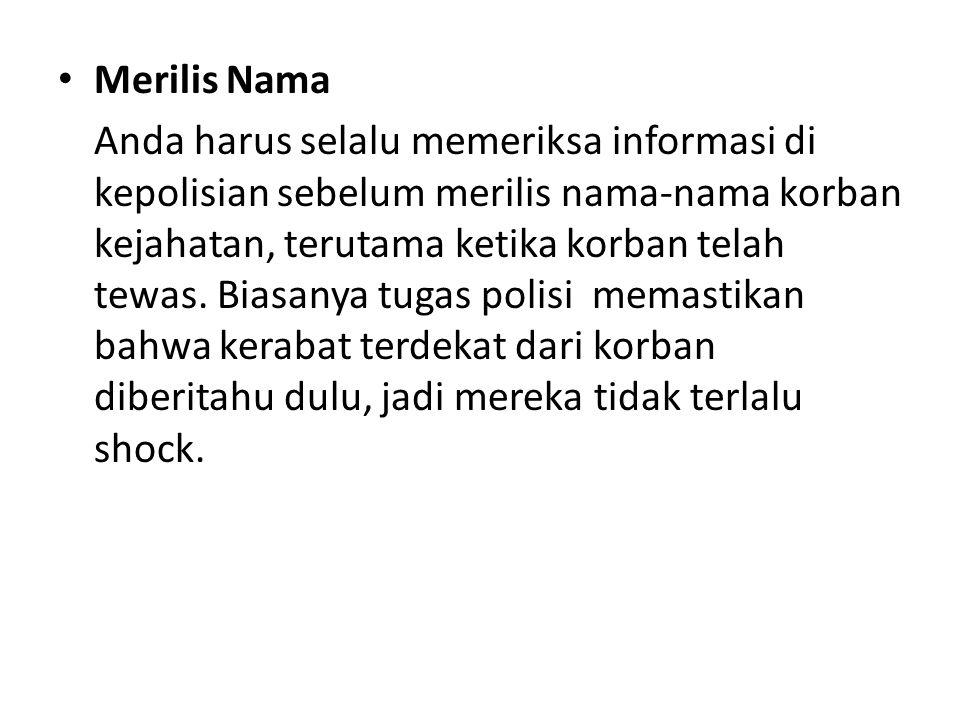 Merilis Nama