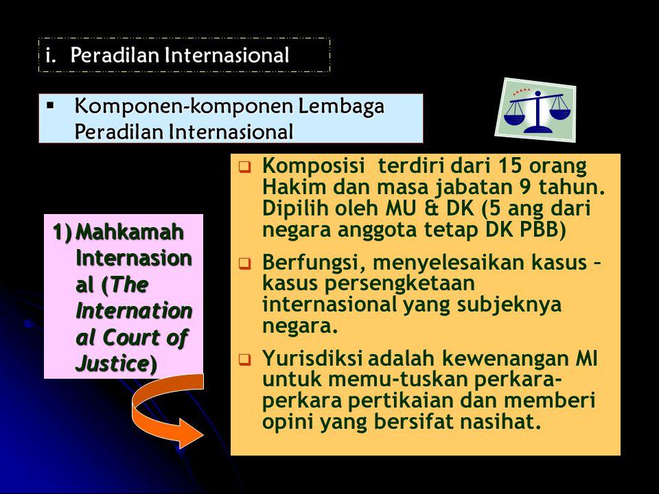 Peradilan Internasional