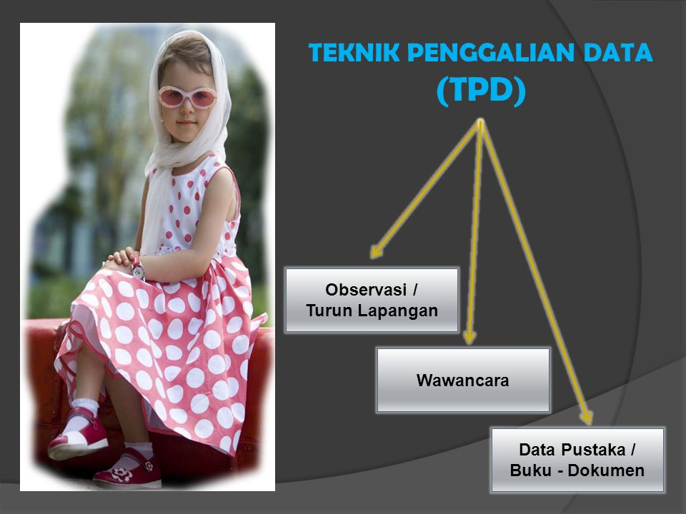 TEKNIK PENGGALIAN DATA (TPD)
