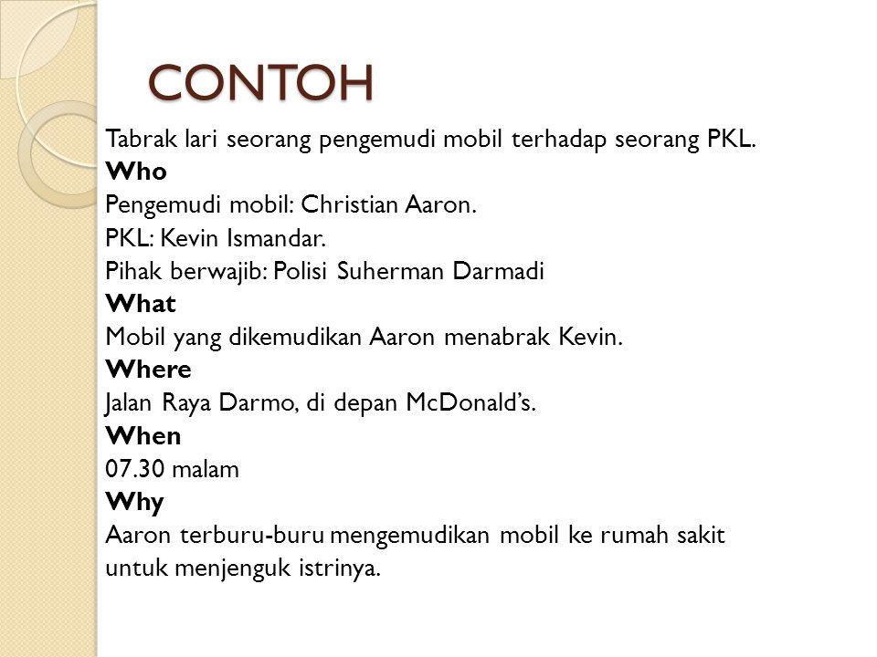 Contoh Feature Berita Pendek Lerotoh