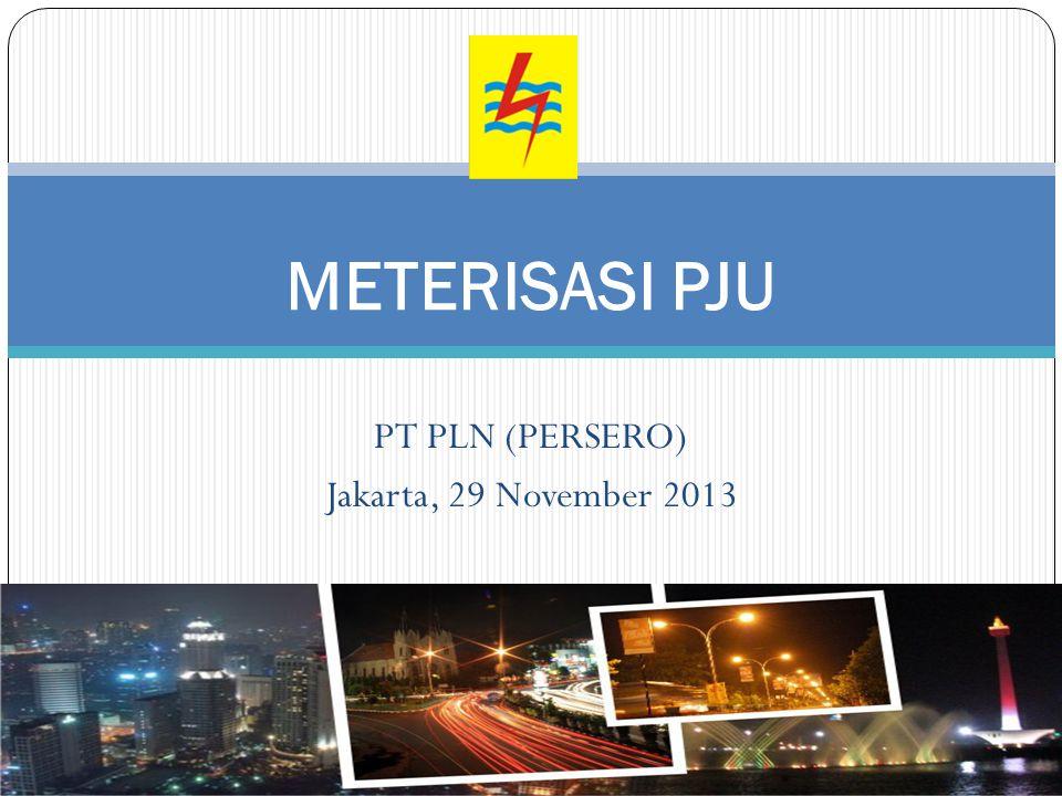 PT PLN (PERSERO) Jakarta, 29 November 2013