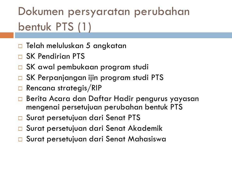 Dokumen persyaratan perubahan bentuk PTS (1)