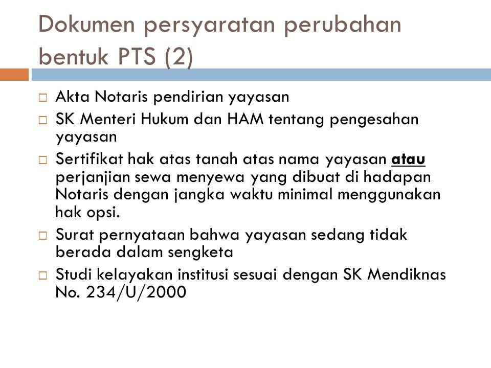 Dokumen persyaratan perubahan bentuk PTS (2)