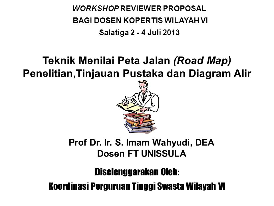 WORKSHOP REVIEWER PROPOSAL