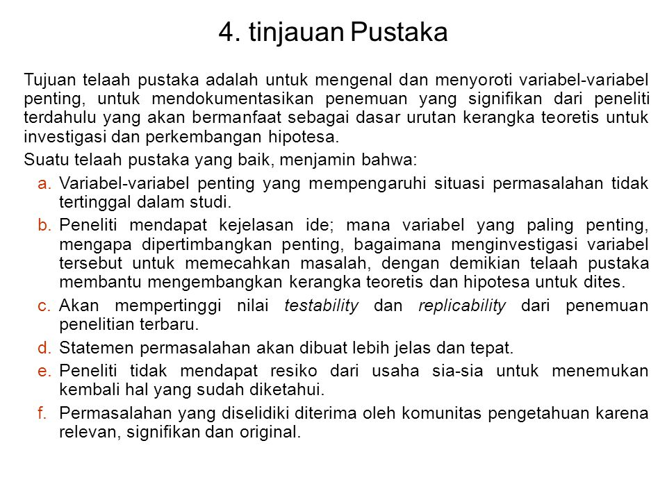 4. tinjauan Pustaka