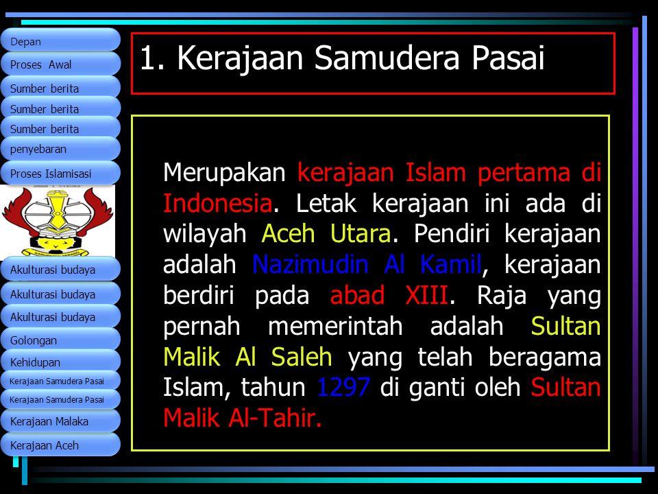 1. Kerajaan Samudera Pasai