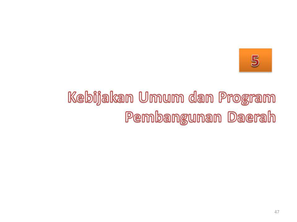 Kebijakan Umum dan Program Pembangunan Daerah
