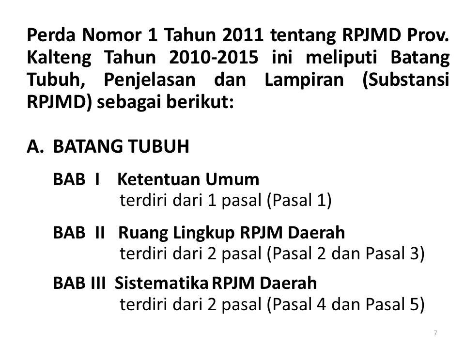 BAB III Sistematika RPJM Daerah