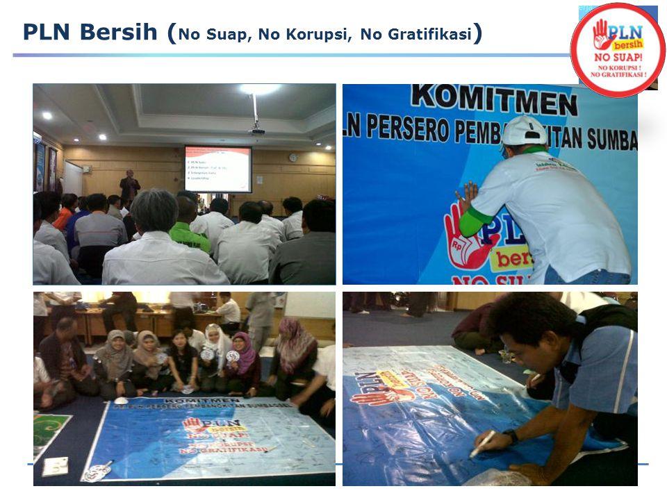 PLN Bersih (No Suap, No Korupsi, No Gratifikasi)