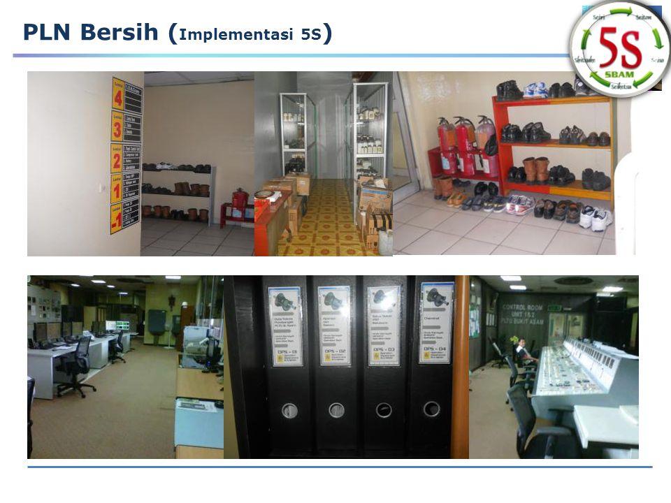 PLN Bersih (Implementasi 5S)