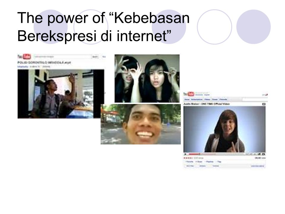The power of Kebebasan Berekspresi di internet