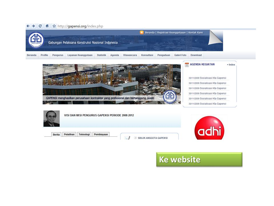 Ke website