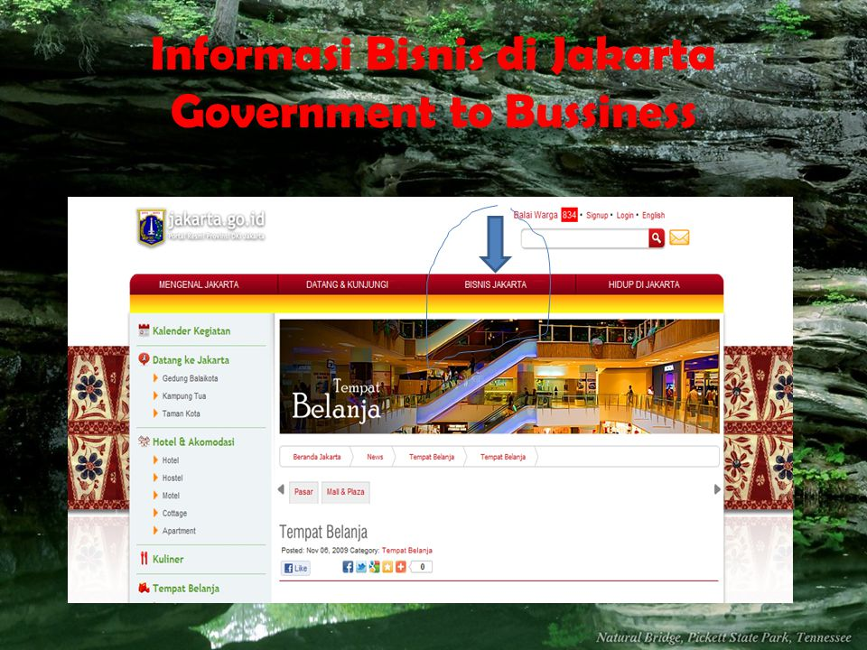 Informasi Bisnis di Jakarta Government to Bussiness