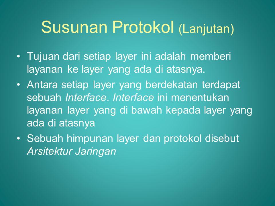 Susunan Protokol (Lanjutan)