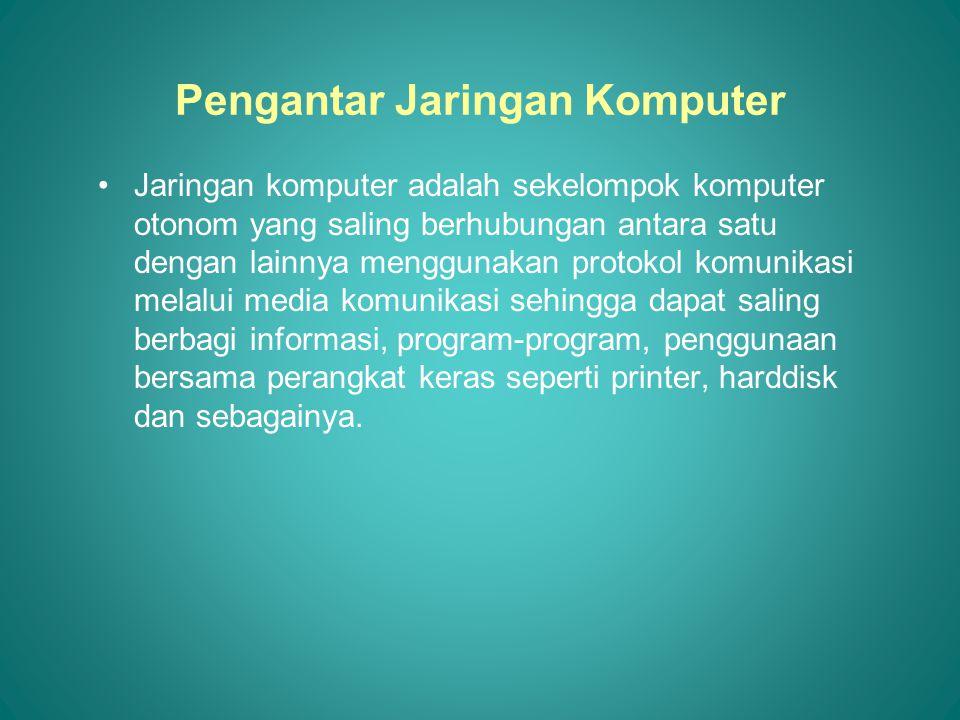 Pengantar Jaringan Komputer