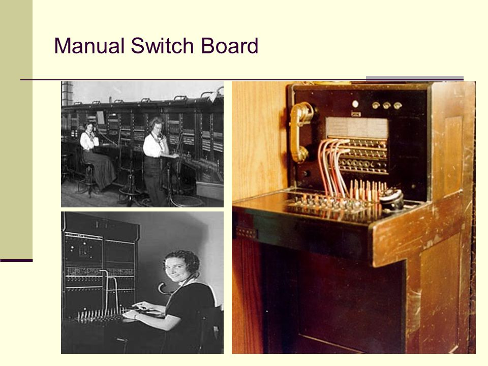 Manual Switch Board