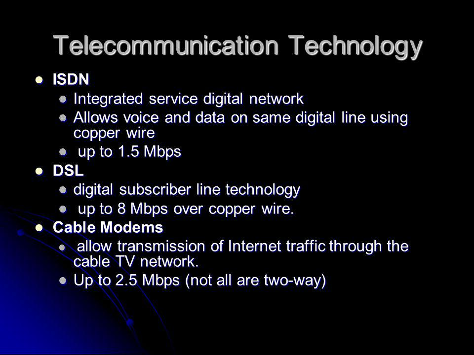 Telecommunication Technology