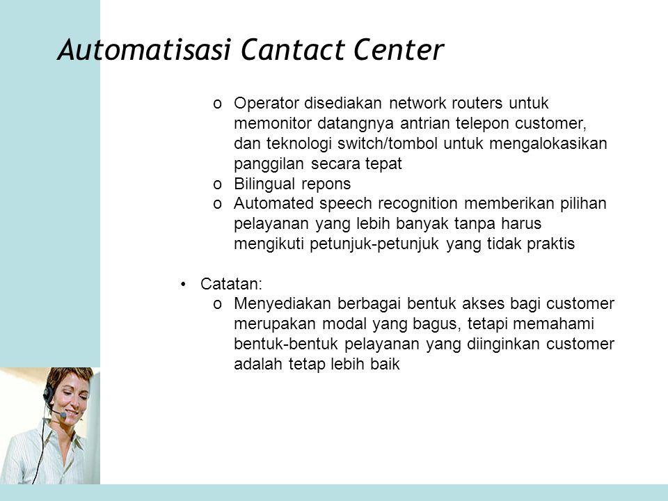 Automatisasi Cantact Center
