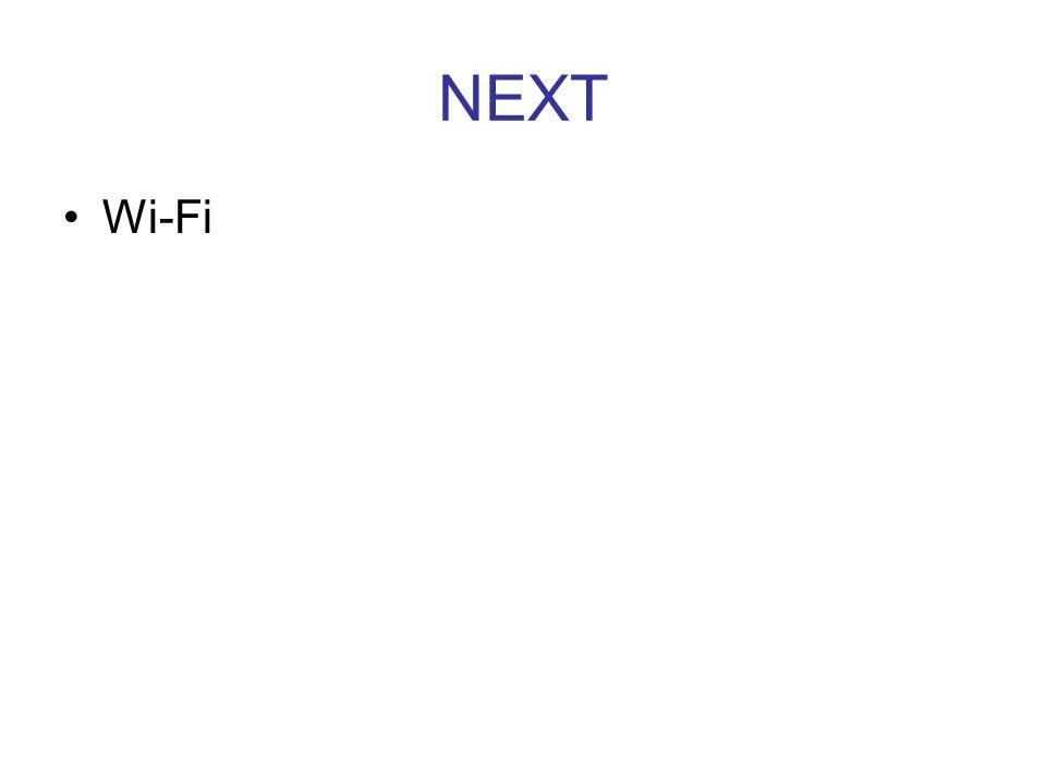 NEXT Wi-Fi