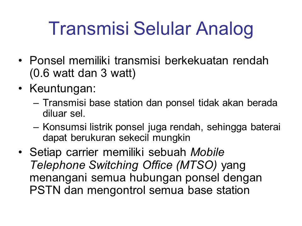 Transmisi Selular Analog
