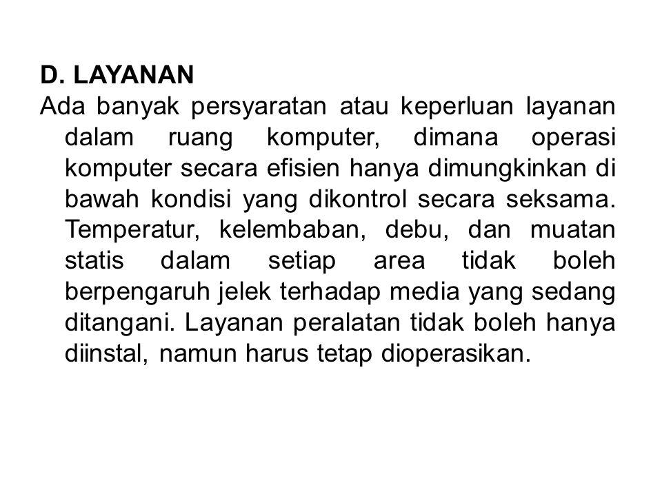 D. LAYANAN