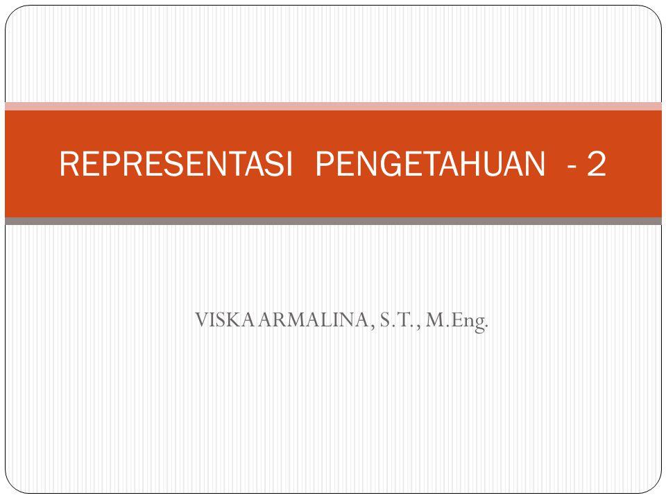 REPRESENTASI PENGETAHUAN - 2