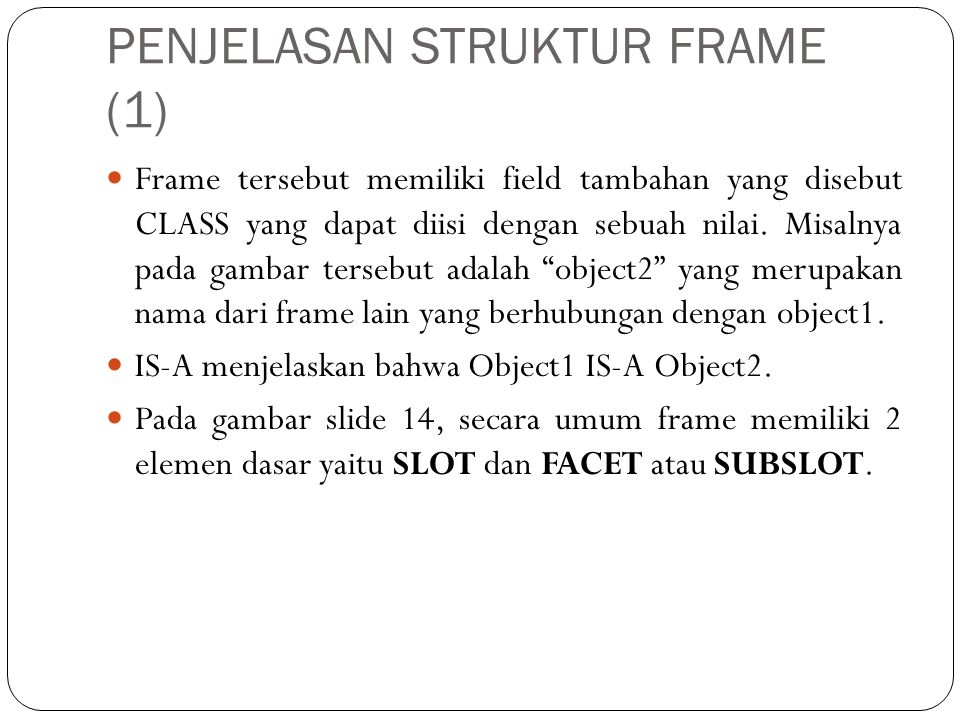 PENJELASAN STRUKTUR FRAME (1)